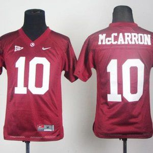 Youth Alabama Crimson Tide 10# AJ McCarron Jersey